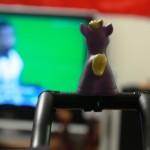 Pimpuś ogląda Ligę Mistrzów
