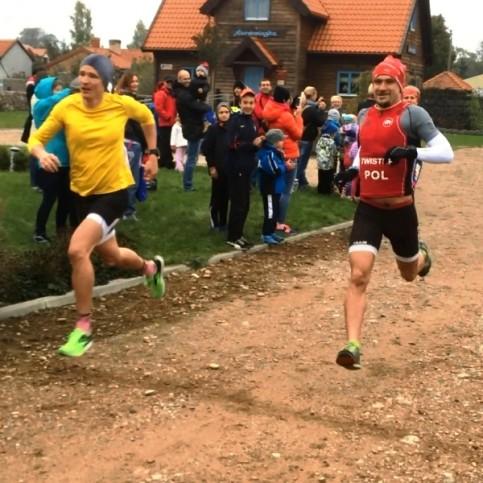 Finisz biegu na kilometr