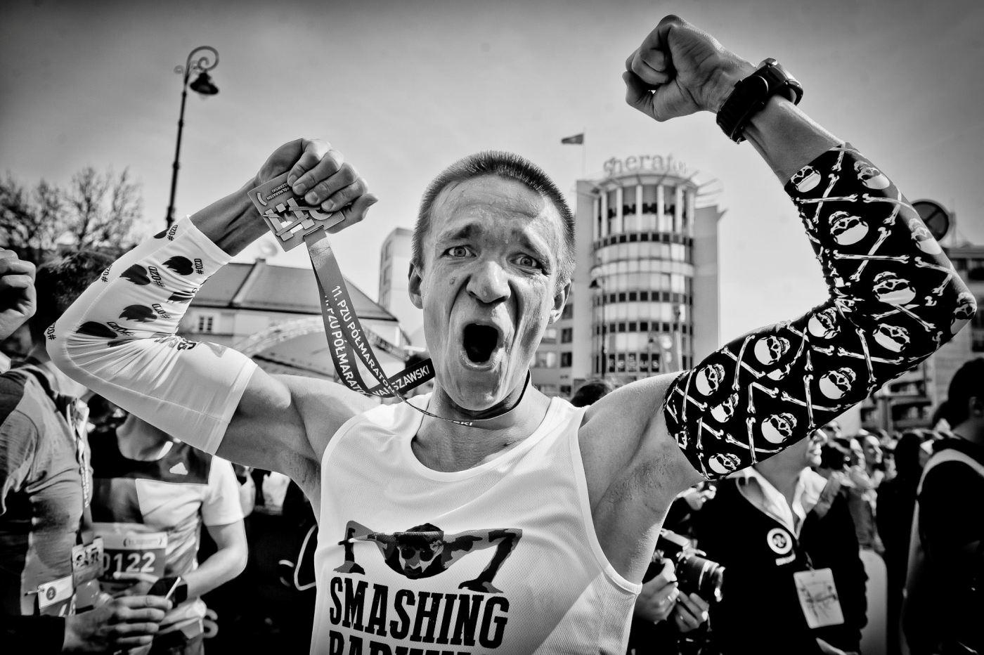 Półmaraton Warszawski, fot. Sportografia