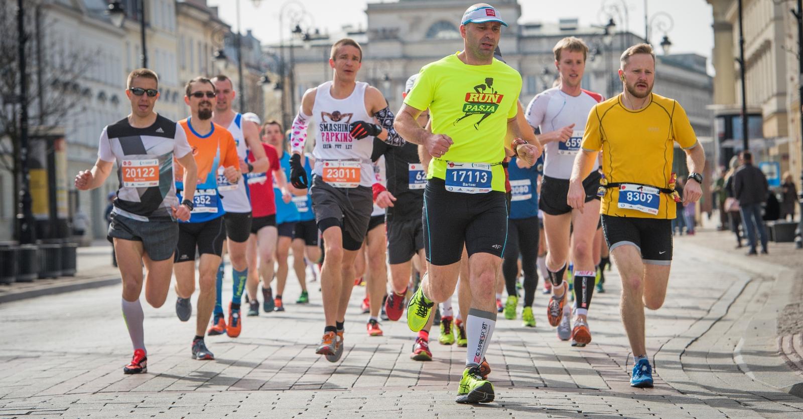 Półmaraton Warszawski / fot. Piotr Dymus