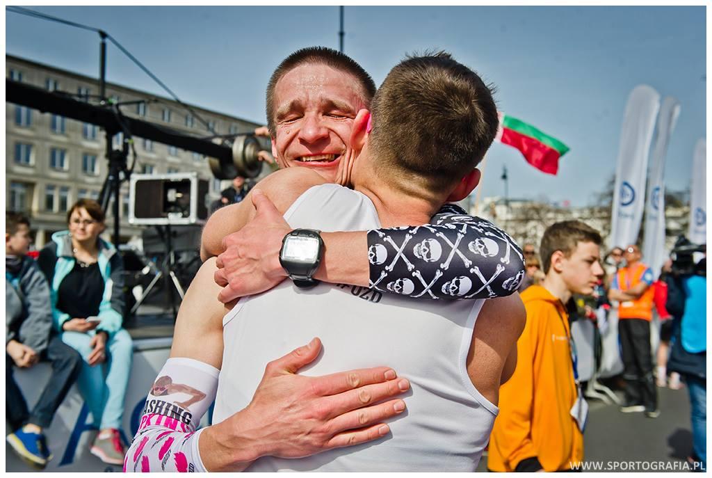 Meta Półmaratonu Warszawskiego / fot. Sportografia.pl