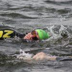 Challenge Roth to przepiękna impreza, pierwszy raz mam zdjęcie z pływania! / fot. Bartek
