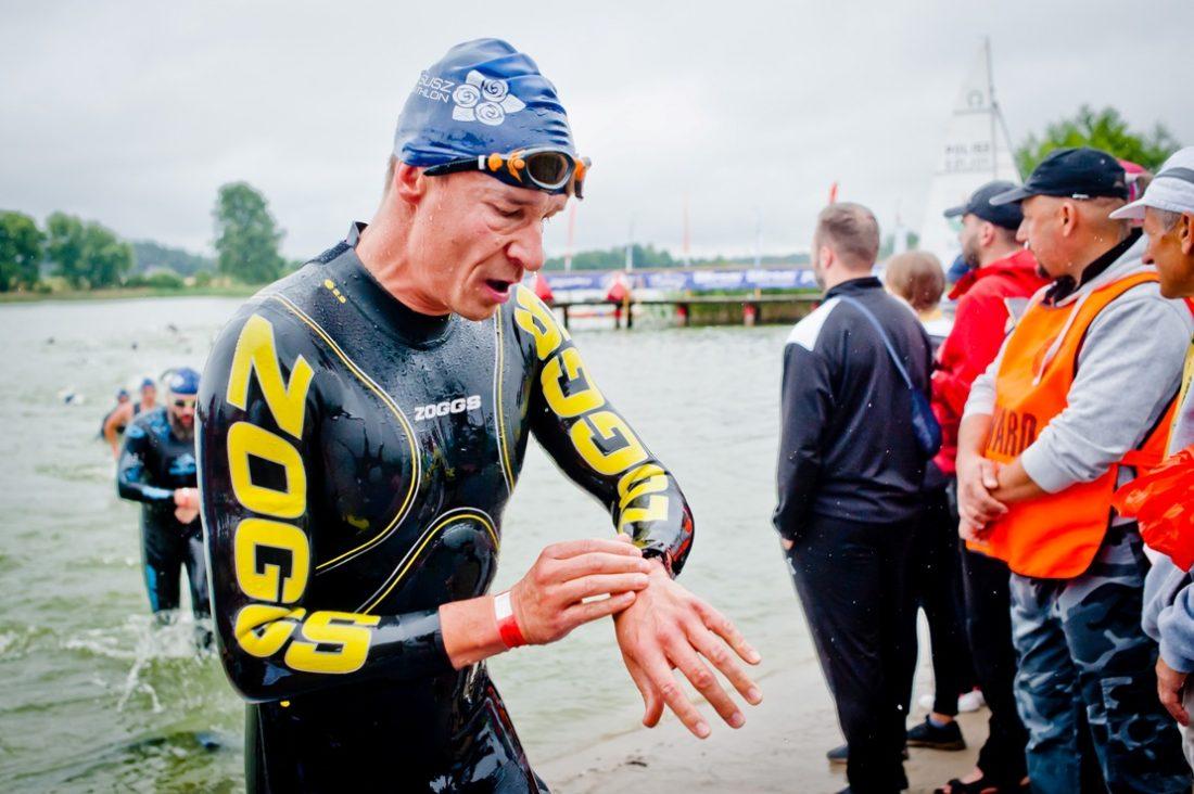 Ile bym na zegarek nie patrzył, to ciągle pływam za wolno.. ;) / fot. Sportografia.pl